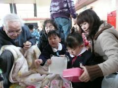 2009・2・28お遊戯会でのお昼ご飯