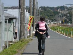 2009・4・3イチゴ狩り芹奈②