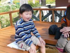 2009・4・3初めての足湯、丈竜