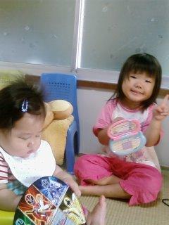 2009-8-24丈竜誕生日の芹奈と倫太郎