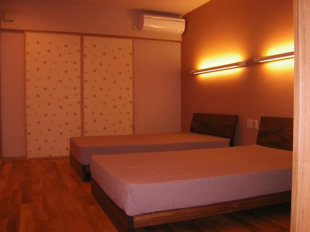 高田邸寝室