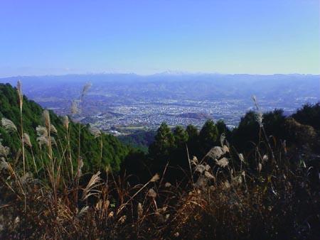 R310から八経ヶ岳を望む