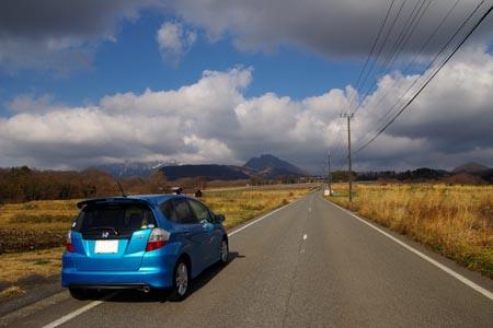 迂回路から大山へ