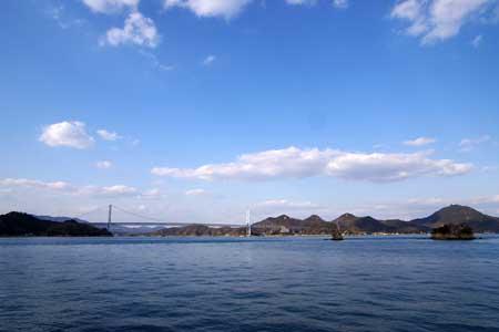 因島より因島大橋