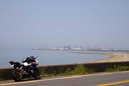 海岸寺付近
