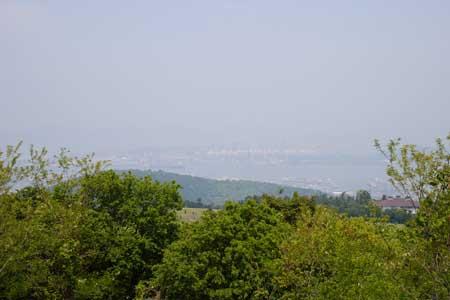 城山展望台より北側