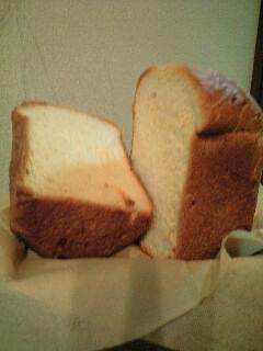 食パン割ったとこ
