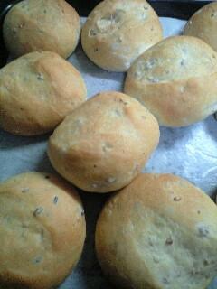 雑穀丸パン