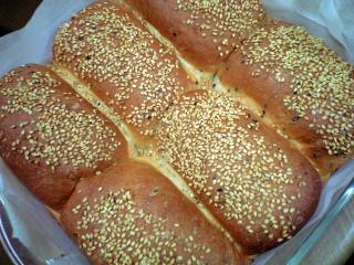 ごまパン試作完成