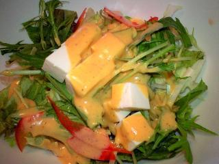 ナポリの食卓 サラダ