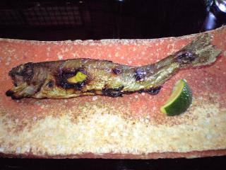 うかい鳥山 料理 岩魚