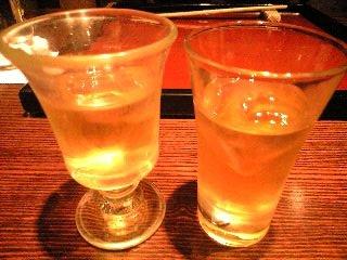 燈々庵 食前酒(ジュース)
