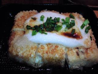 鳥良 豆腐のとろとろ鉄板焼き500