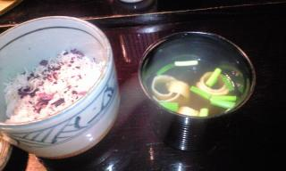 黒茶屋 食事2