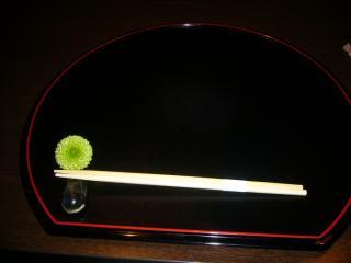 会席料理 みや 箸