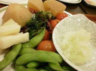 野菜だらけ