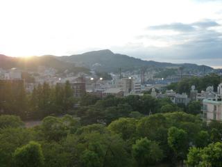 現在の長崎原爆落下中心地一帯