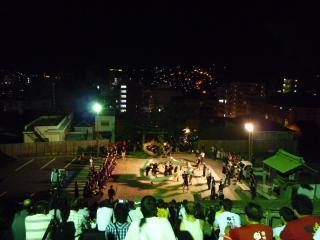 筑後町龍踊り2