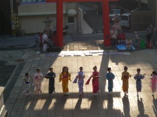 上町 町内子供連中踊り
