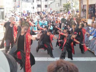 元町自治会奉納踊り