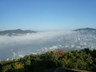 2009年11月25日長崎の雲海