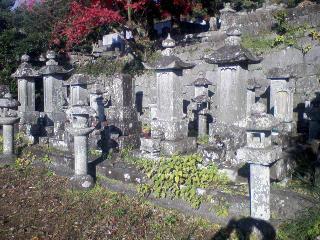 阿蘭陀通詞中山家墓地