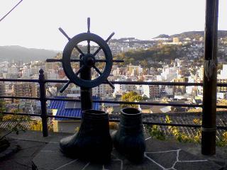 龍馬のブーツ像