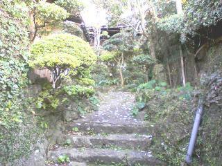 亀山社中玄関先