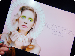 ADDICTION 2010 SPRING COLLECTIONビュジアル