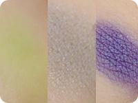 限定3色の発色