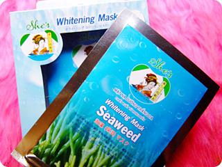 She's Whitening Mask Seaweed