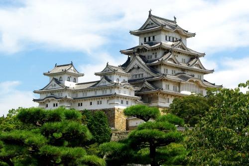 090911西の丸から姫路城