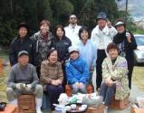 竹炭作りメンバー