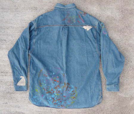 denim shirt ura