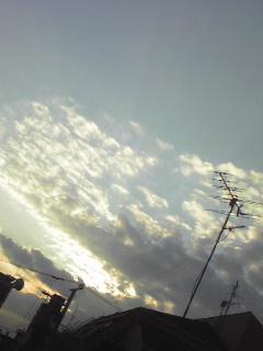 空(斜め)