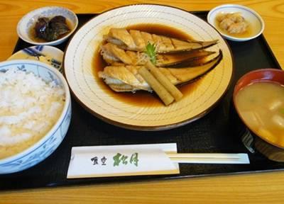 松月4 煮サカナ定食