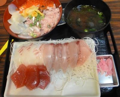 豊浜 海鮮丼&刺身
