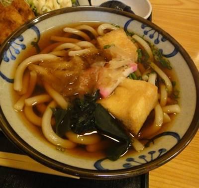 松月4 味噌汁-うどん