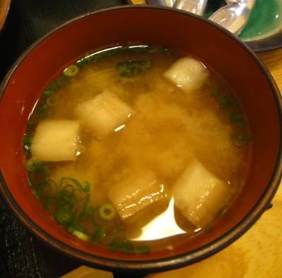 松月4 味噌汁