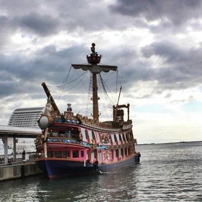 神戸 メリケンパーク海賊船
