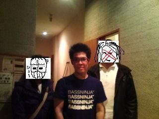 カゲロウさん&俺&鉄の女サッチャーのスリーショット!