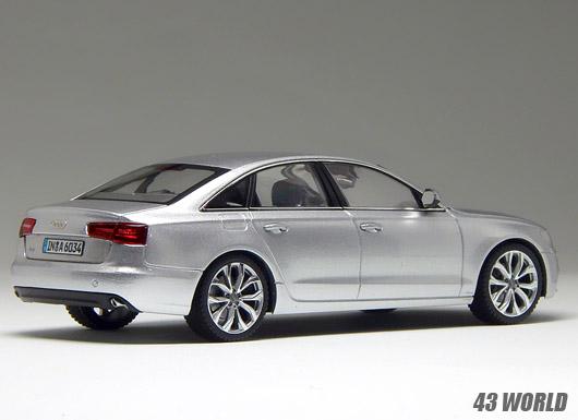 Audi A6 silver