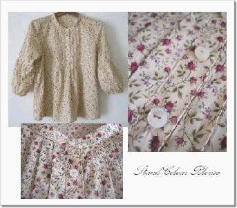 2008-7 stand collar blouse 2
