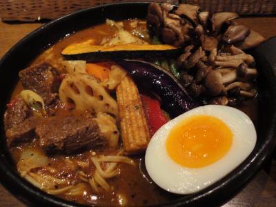 キノコベジタブルカリー+ラム スープ1@SHO-RINさん