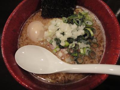海スープ+味玉♪@山嵐黒虎さん