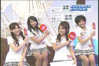 AKB48卓球部,世界卓球