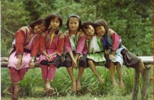 タイ子供たち