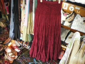 crincle skirt