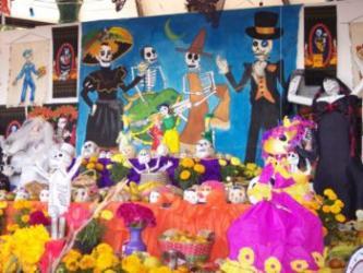 mexico 死者の日