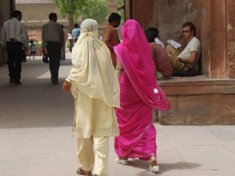 india サリー&パンジャミ